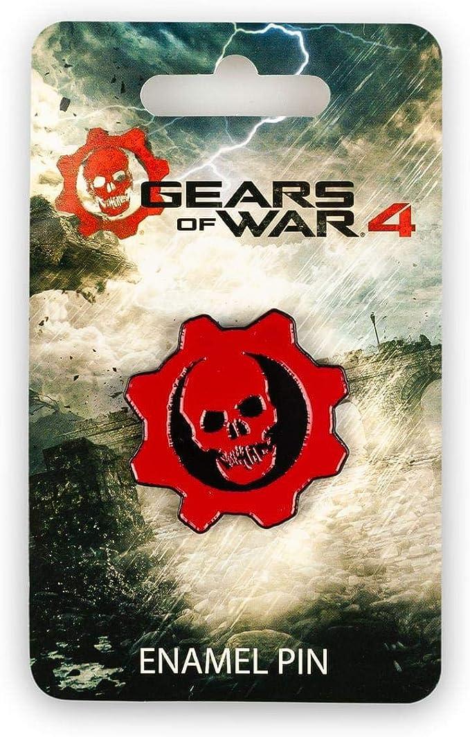Gears of War 4 Crimson Omen Pin | Official Collectible Logo Pin ...
