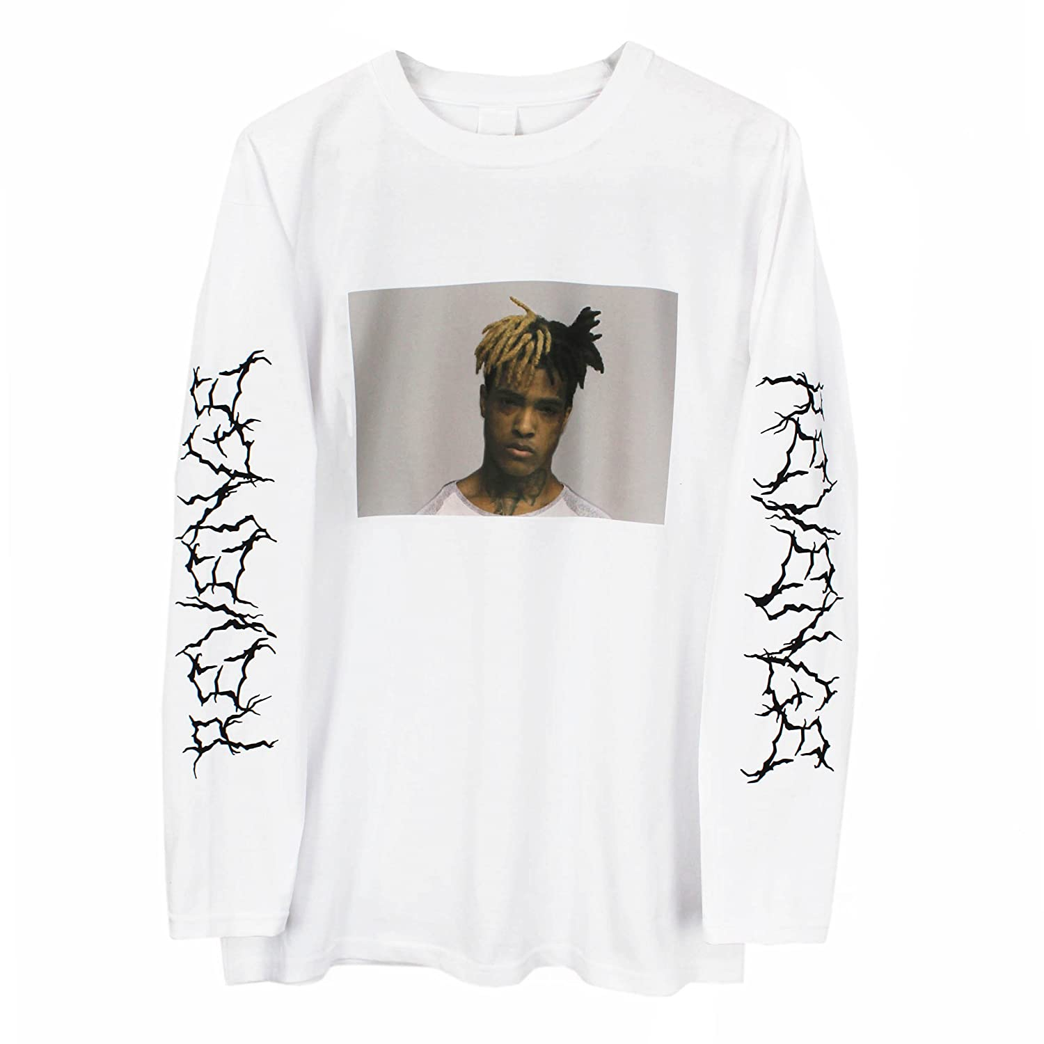fe7ab45d2 Amazon.com: Printed Tee Xxxtentacion Long Sleeve T-Shirt: Clothing