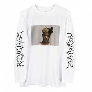 fdc85fc4aedb Amazon.com: Printed Tee Xxxtentacion Long Sleeve T-Shirt: Clothing