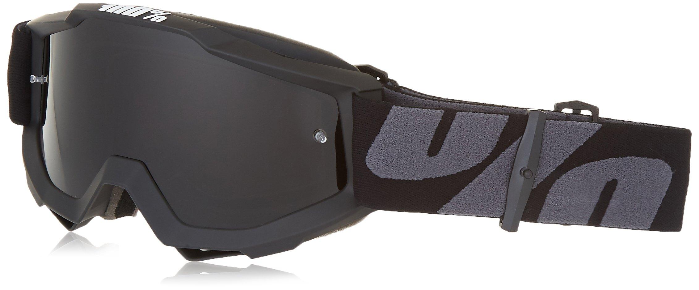 100% 50205-118-01 unisex-adult Goggle (Grey,Smoke,One Size) (OTG SUPER Black OTG DKGrey)