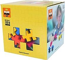 PLUS PLUS Big - Preschool Construction Building Toy, Open Play Set - 100 Piece - Basic Color Mix