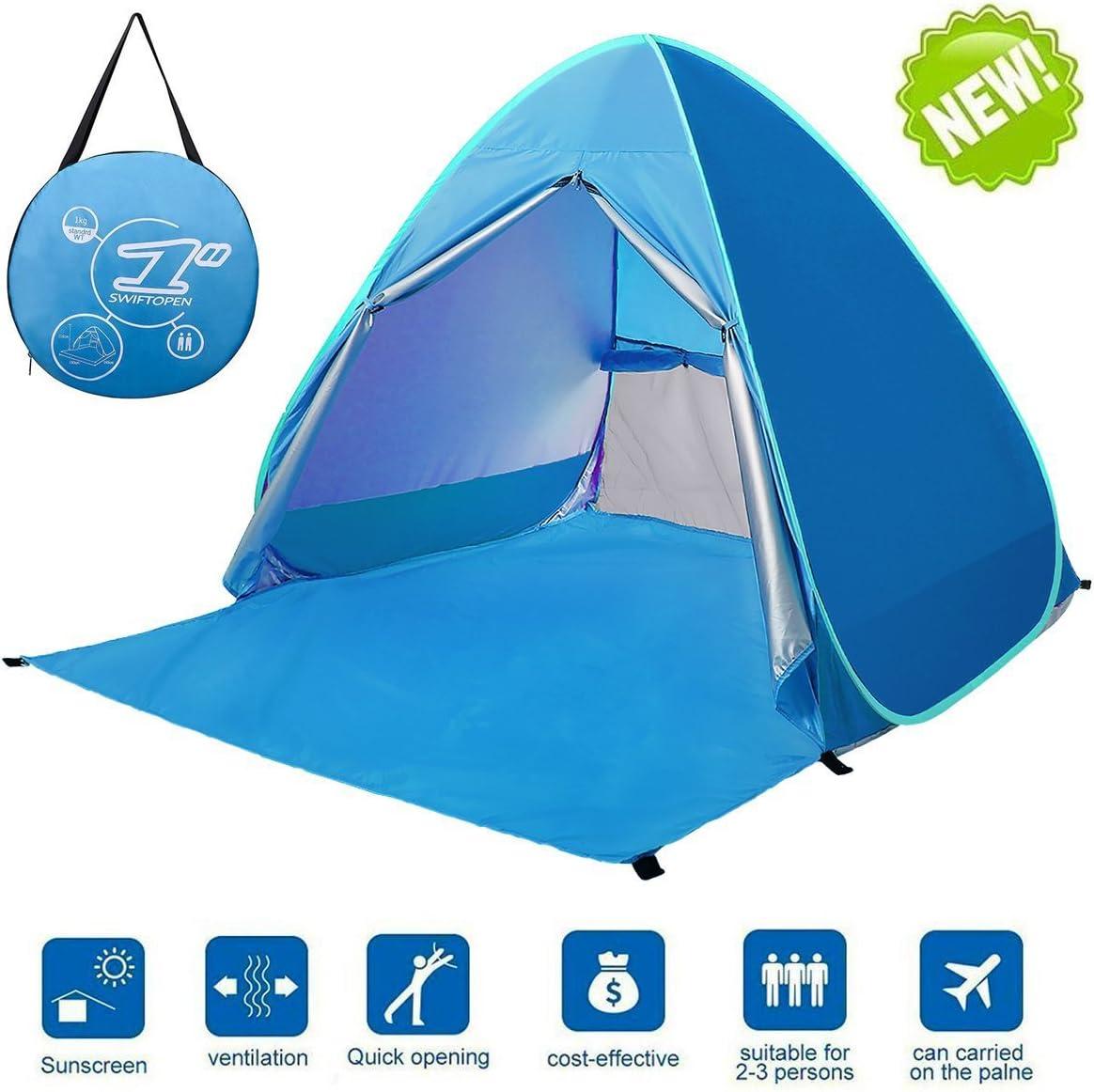 LingAo Automatic Pop Up Beach Tent,Sun