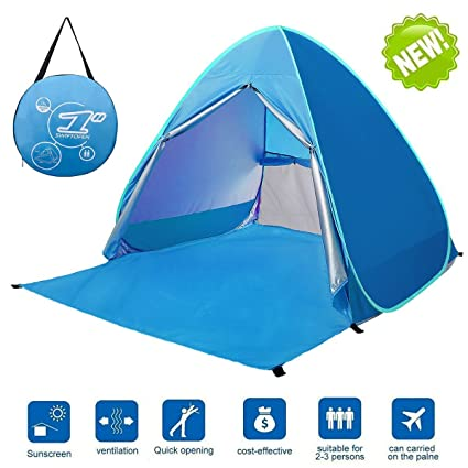 46735245aa2 Amazon.com  LingAo Automatic Pop Up Beach Tent