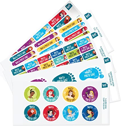 Ludilabel - Pack de etiquetas adhesivas y termoadhesivas ...