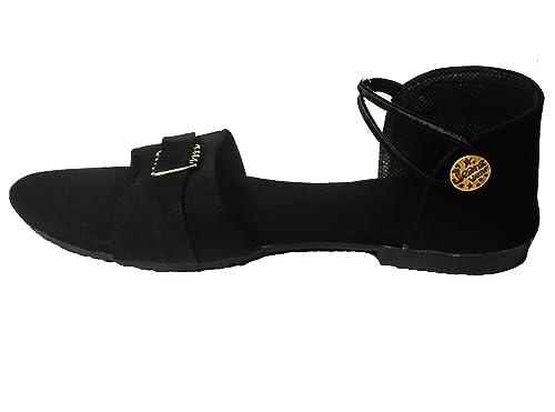 7295a3ec432173 ASK - JS - LCD   CO Women s Black Leather Sling Heeled Sandal -10