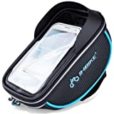 Best Bicycle Handlebar Bag UK Mountain Bike and Road Bike Front Water Resistant Bicycle Handlebar Bag for Touring and phones In 2017
