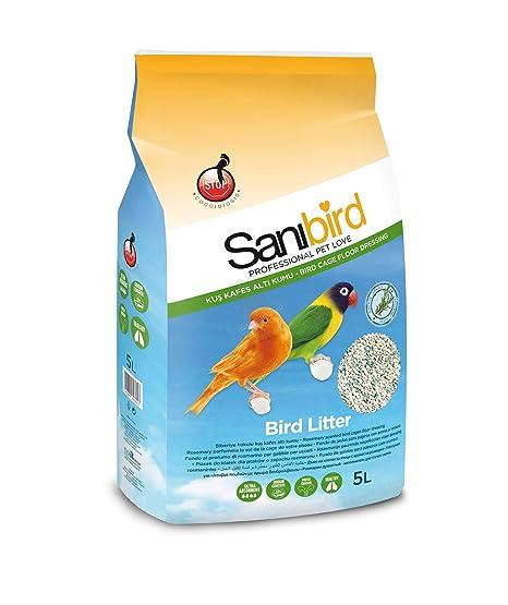 SANIBIRD Arenero Pájaros Romero LT. 5: Amazon.es: Productos para ...