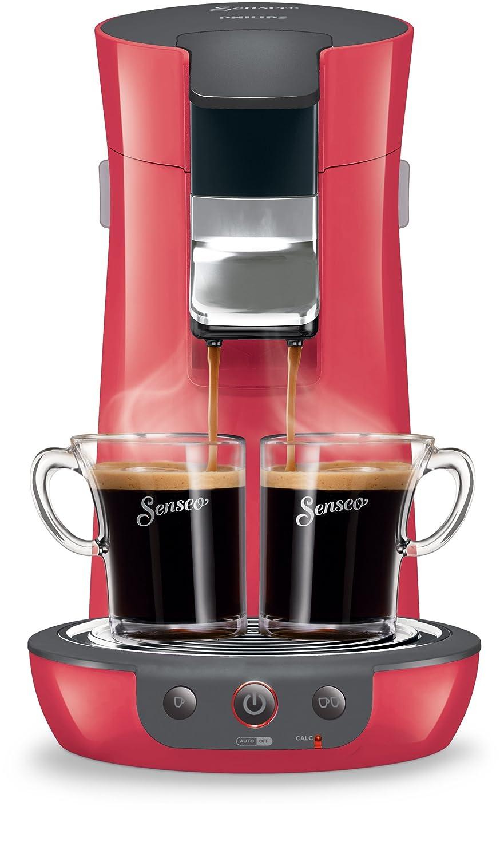 Senseo Viva Café HD7825 Pod coffee machine 0.9L 6cups Cherry - coffee makers (freestanding, Fully-auto, Pod coffee machine, Coffee pod, Caffe crema, Cherry) HD7825/82