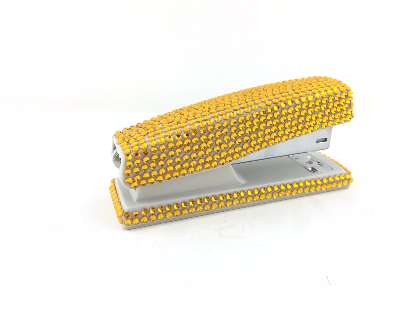 blingustyle Sparkly Diamante Crystal Stapler For Office/Home Gold by blingustyle (Image #4)