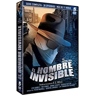 El Hombre Invisible (Serie TV 5 DVDs) 1985 The Invisible Man