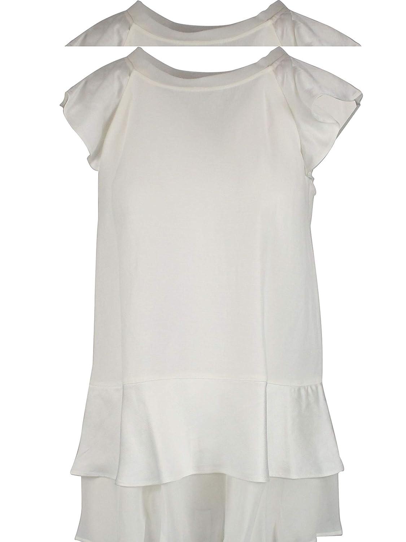 TwinSet Women's 191TT230600282 White Viscose Blouse