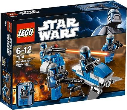 LEGO Star Wars 7914 - Mandalorian Battle Pack: LEGO: Amazon.es ...
