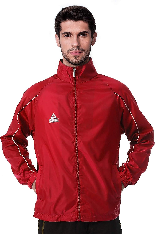 PEAK Waterproof Hooded Rain Coat Lightweight Hiking Rain Jacket for Outdoor Activities Men Women Adults