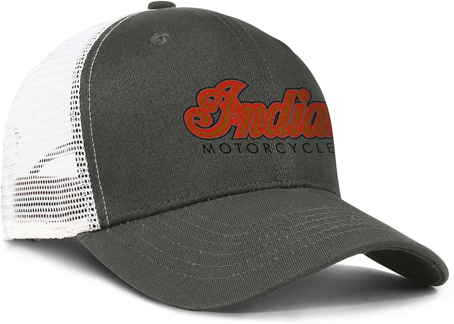 coolgood All Cotton Trucker Cap Indian-Motorcycles-logp Snapback Printed Hats