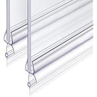 Junta Para Mampara de Ducha 2x100cm Revspoir se Ajusta Perfectamente a la Puerta de Vidrio de Goma Mampara Ducha 4/5/6…