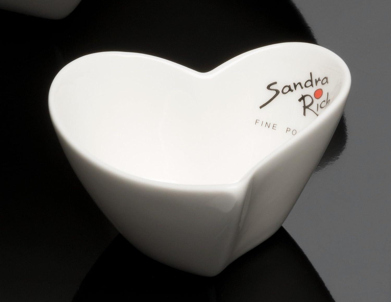 forma rotonda Ciotola in porcellana 7,5 x 7,5 cm Sandra Rich