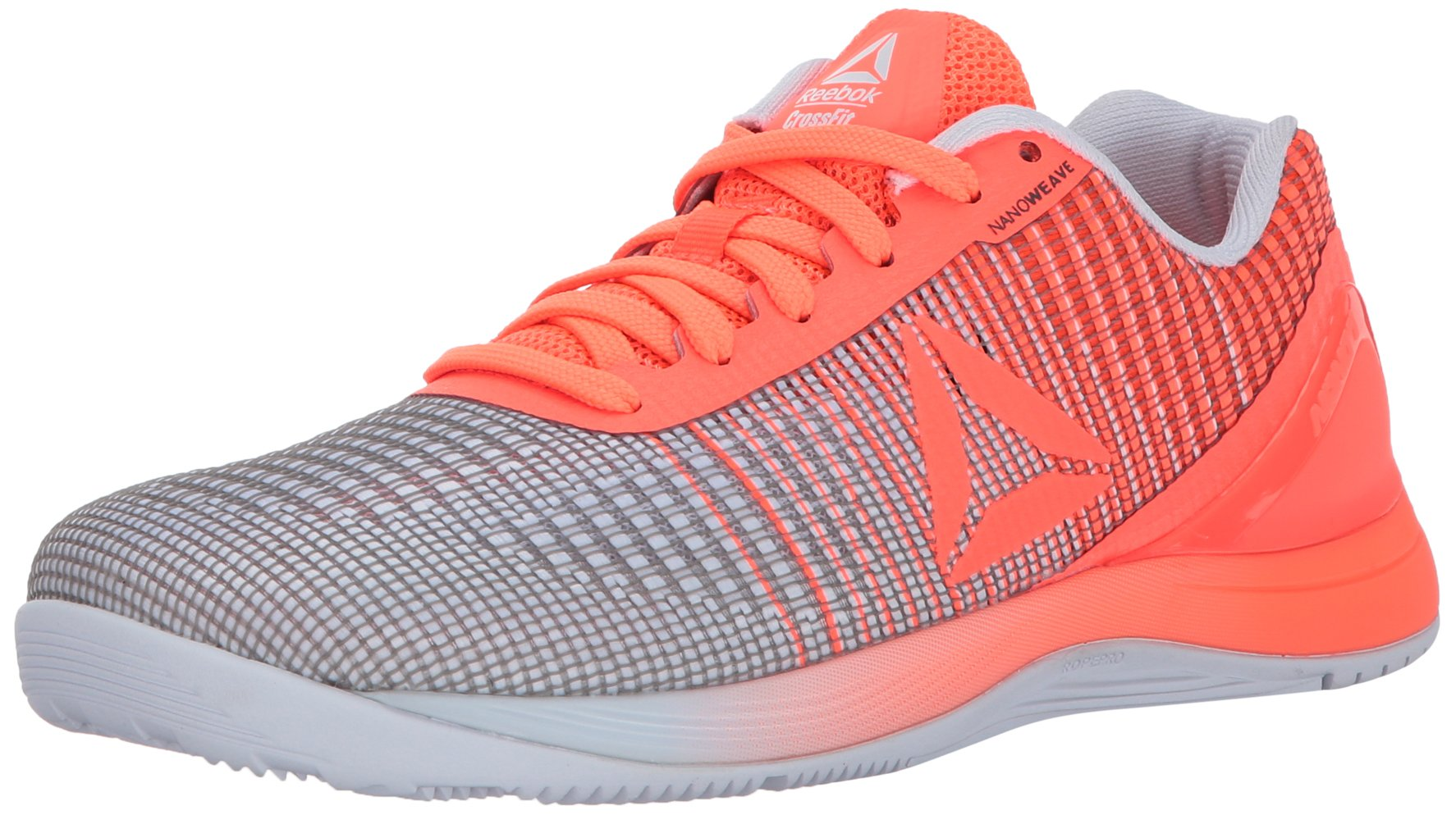 Reebok Women's Crossfit Nano 7.0 Track Shoe, Guava Punch/White, 11 M US