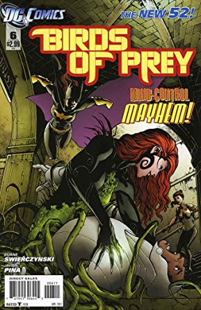 Amazon Com Birds Of Prey 3rd Series 6 Vf Dc Comic Book Entertainment Collectibles