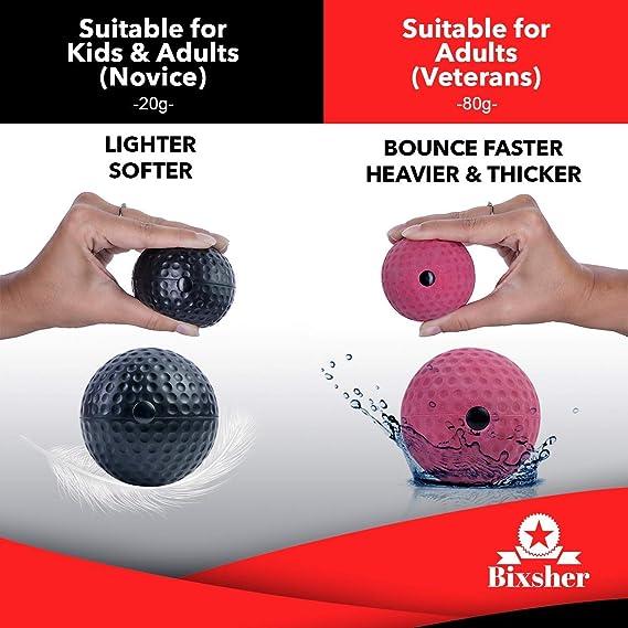 Amazon.com: Bola de boxeo Pro para boxeo, bola reflectante ...