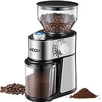 Aicok Molinillo de café eléctrico, 14 niveles
