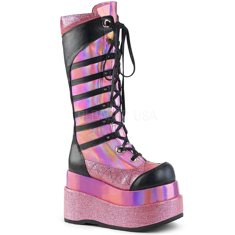 Demonia DEMONIAW Womens BEAR-205/PNHG-BVL Boots B078MQFXJD 10 B(M) US