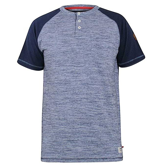 1 opinioni per Uomo Duke D555 GRANDE LUNGO misura king Paul Henley con bottoni t-shirt top