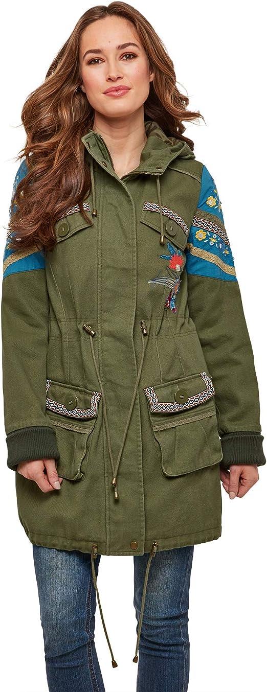 Joe Browns Womens Western Suede Tassel Waterfall Jacket