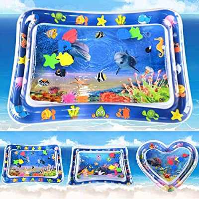 Goodfans Baby Water Mat Kids PVC Inflatable Game Play Pad Baby Floats: Home & Kitchen