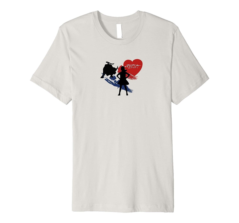 #resist Fearless Girl T-Shirt-TH
