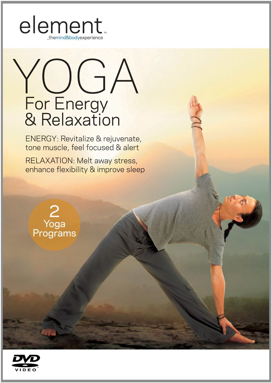 Element  Yoga For Energy   Relaxation Edizione  Regno Unito Import anglais   Amazon.fr  Tamal Dodge 90f1d3dc117