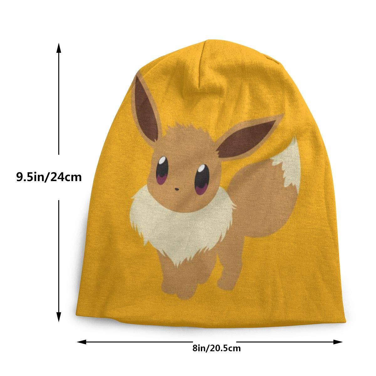 Amstores Novelty Pok/émon Pikachu Girls Boys Beanie Winter Knit Hat