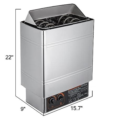 Amazon.com: VEVOR - Soporte de pared para baño de vapor seco ...