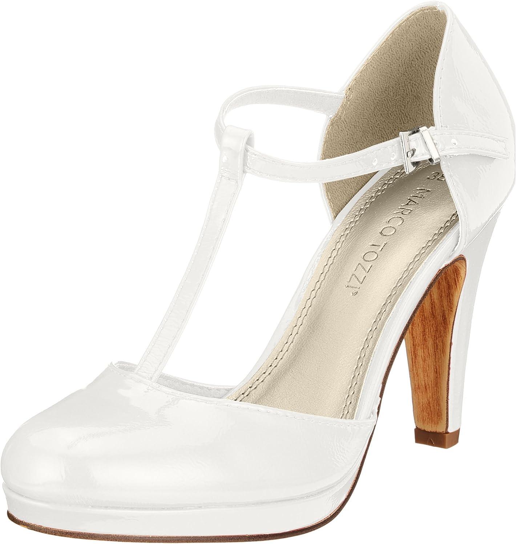 TALLA 40 EU. MARCO TOZZI 24416, Zapatos de Tacón para Mujer