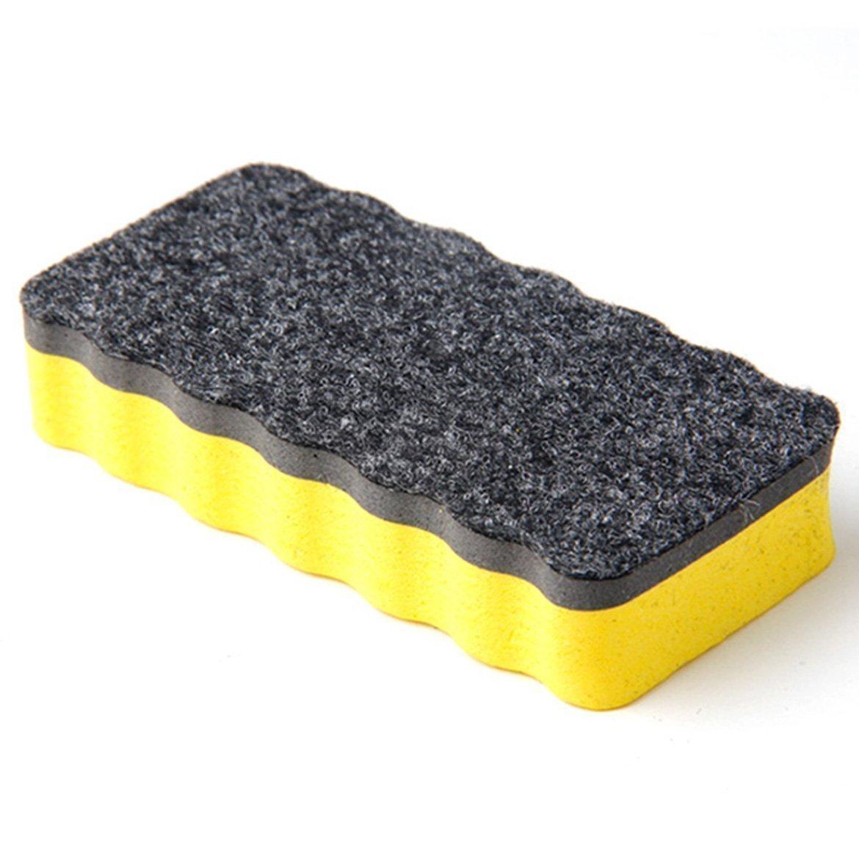 sungpunet zuf/ällige Farbe Magnetisches Whiteboard Radiergummi Trocken abwischbarem wei/ß Boards starker Magnet Sticks zu allen inkl