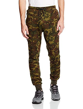 81c0a6d79008b Nike Mens Tech Fleece Woodland Camo Cuffed Sweatpants Joggers Large ...