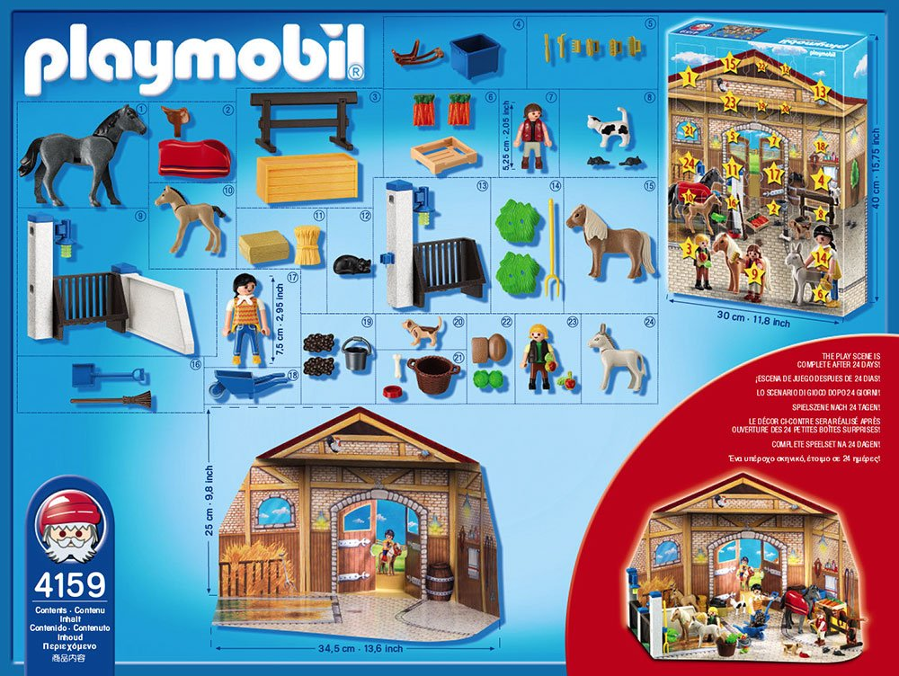 playmobil adventskalender 2010 pferde bestseller shop. Black Bedroom Furniture Sets. Home Design Ideas