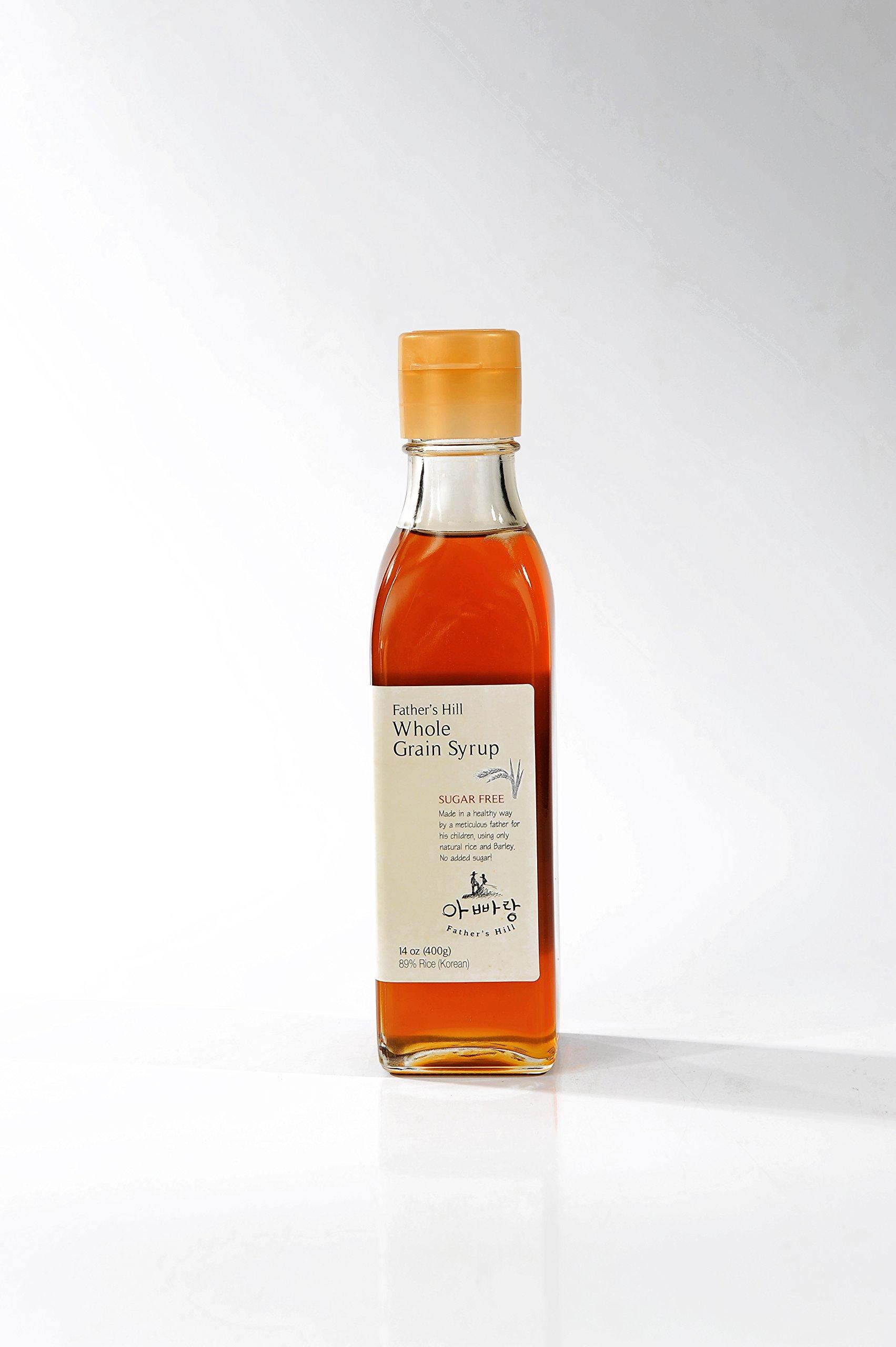 [Father's hill] Whole Grain Syrup, Sugar Free