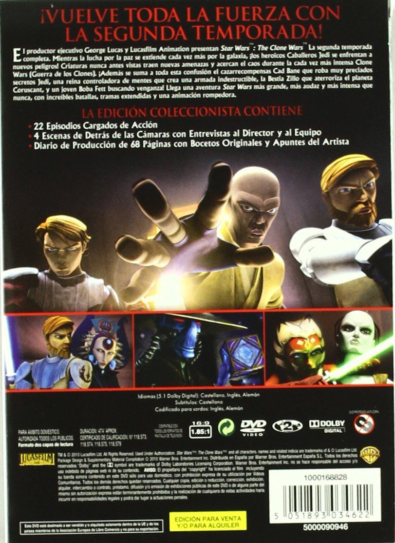Star Wars: The Clone Wars - Temporada 2 [DVD]: Amazon.es: Dibujos Animados, George Lucas: Cine y Series TV