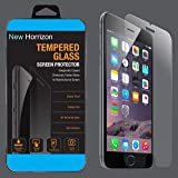 Phone 6s Screen Protector, New Horrizon® [3D Touch Compatible] Premium Tempered Glass Screen Protector Film for Apple iPhone 6 and iPhone 6s Newest Model 4.7