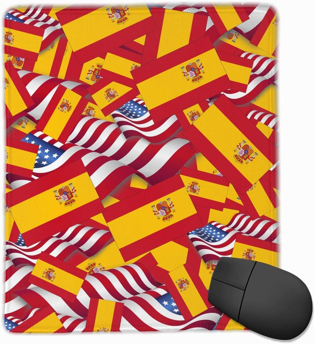 Alfombrilla de ratón Bandera de España con la Bandera de América ...
