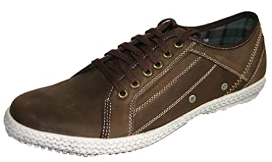 390be58ff72 Seafarer Yachtsman Leather Trainer Style Boat Shoes  Amazon.co.uk ...