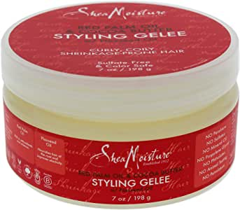 Shea Moisture Red Palm Oil and Cocoa Butter Styling Gelee by Shea Moisture for Unisex - 7 oz Gel, 294.83 grams