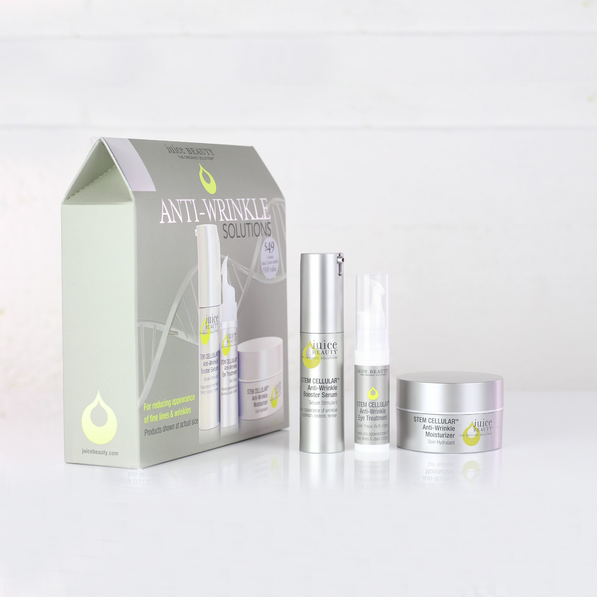 Juice Beauty Stem Cellular Anti-Wrinkle Solutions Kit by Juice Beauty (Image #7)