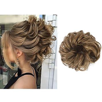 Elastic Curly Hair Scrunchies Hairpiece Fake