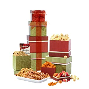 Broadway Basketeers World of Thanks Gift Tower