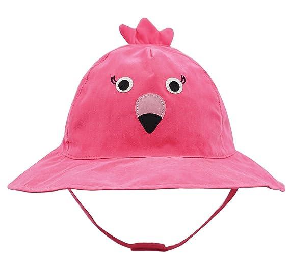 Connectyle Baby Infant Toddler Kids  UPF 50+ Sun Protection Hat Cute  Cartoon Bucket Sun ef64cd3677c