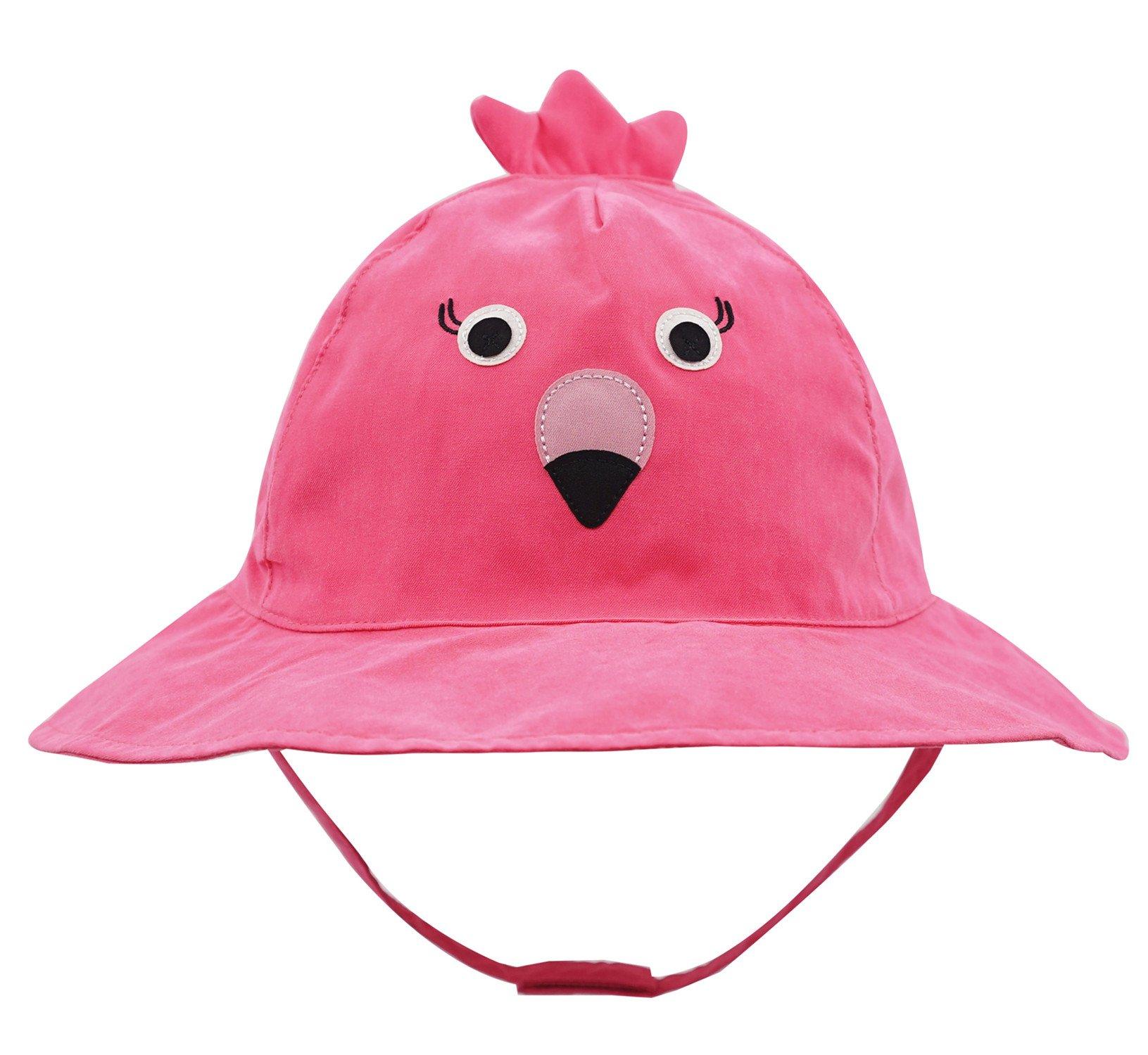 Connectyle Baby Infant Toddler Kids' UPF 50+ Sun Protection Hat Cute Cartoon Bucket Sun Hats