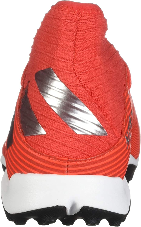 Adidas Nemeziz 19.3 Turf Chaussures de Football pour Homme Active Red Silver Metallic Solar Red