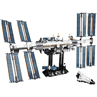 LEGO Ideas International Space Station 21321 864 Pieces White: Toys & Games