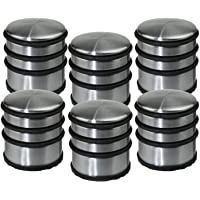 Lot de 6 stop-portes - Solide & Pratique - en Inox
